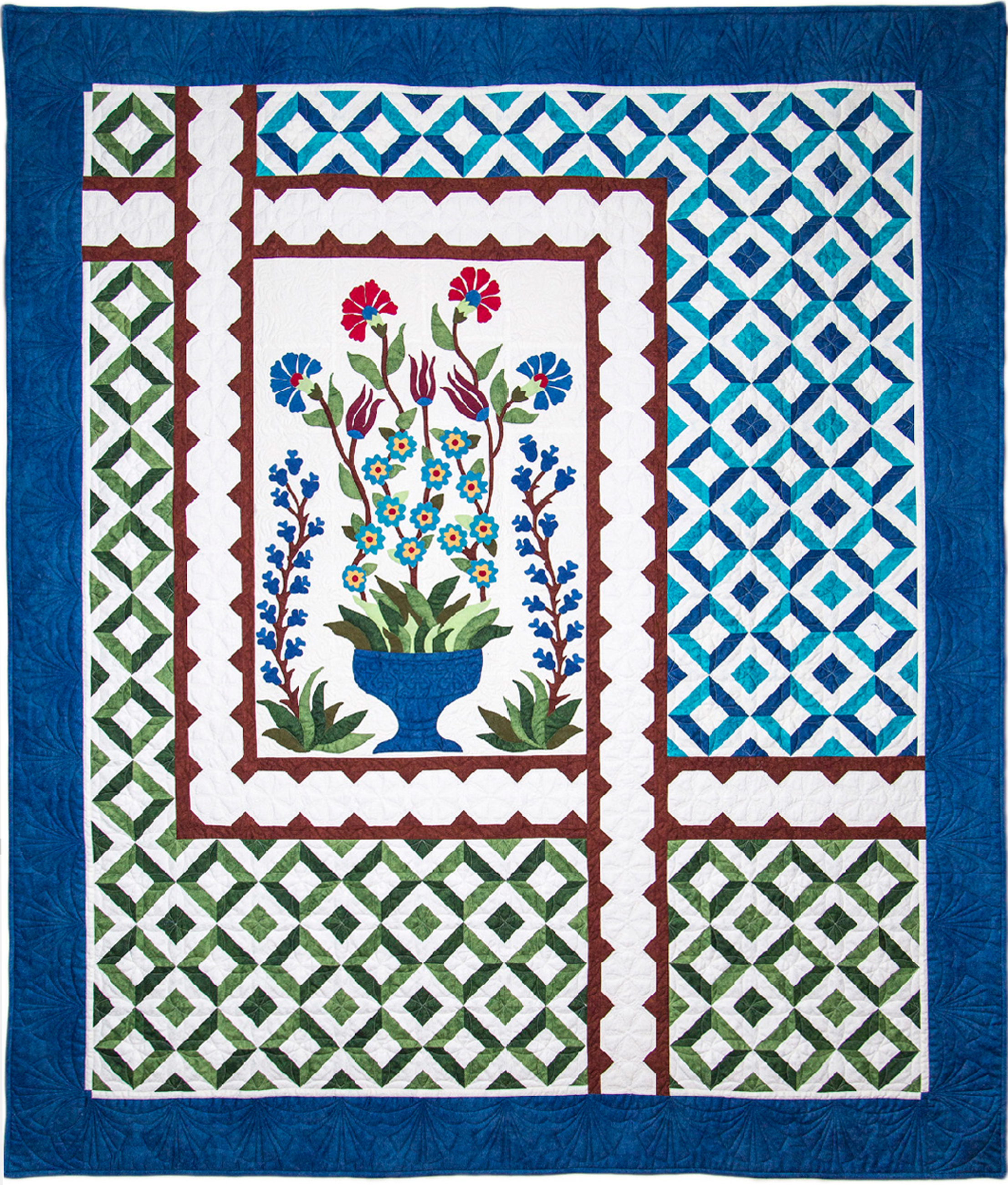 Opportunity Quilt 2017 Turkish Delight 150